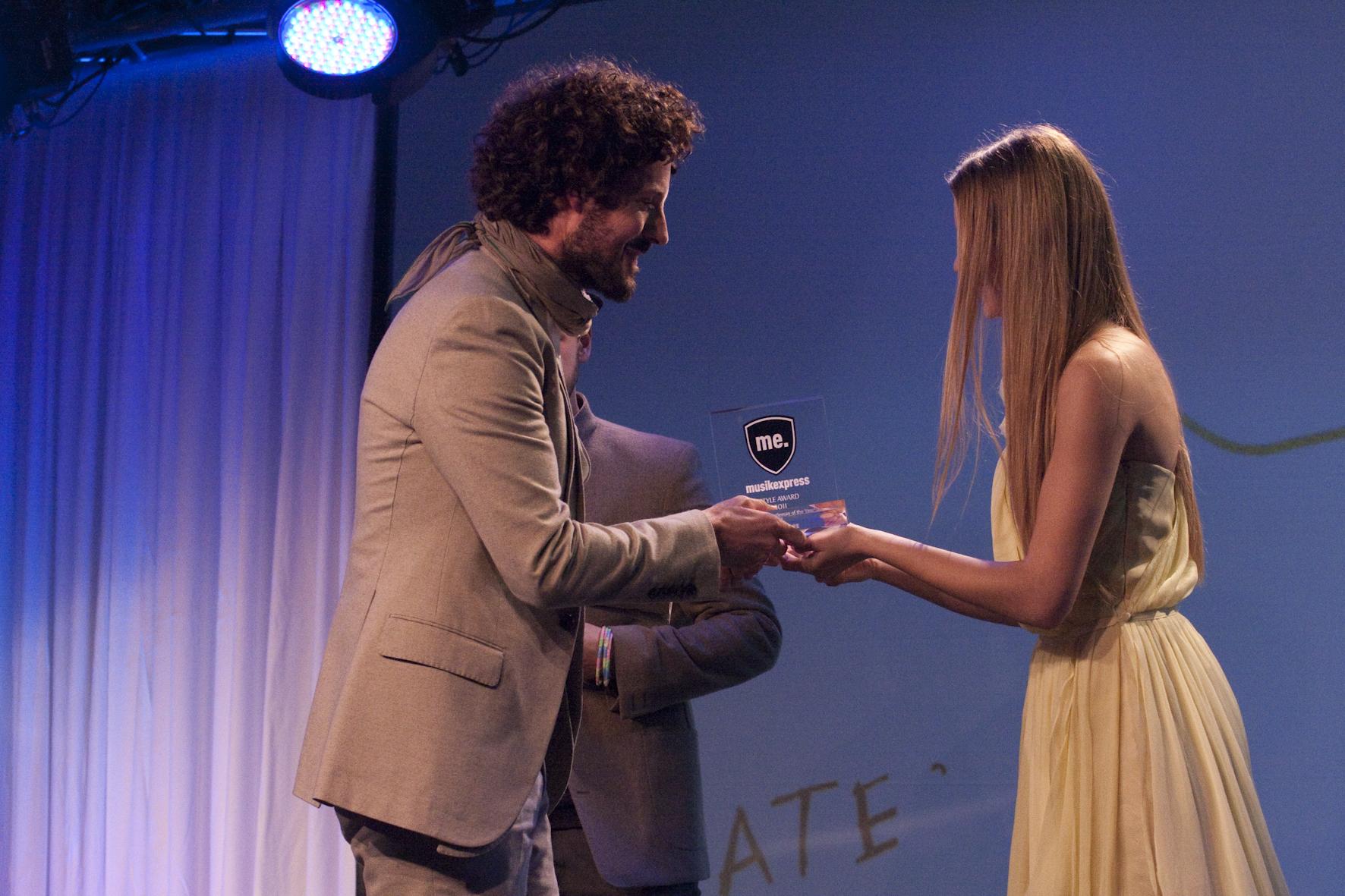 Hat sich den Award verdient: Max Herre, unser 'Gentleman Of The Year'.