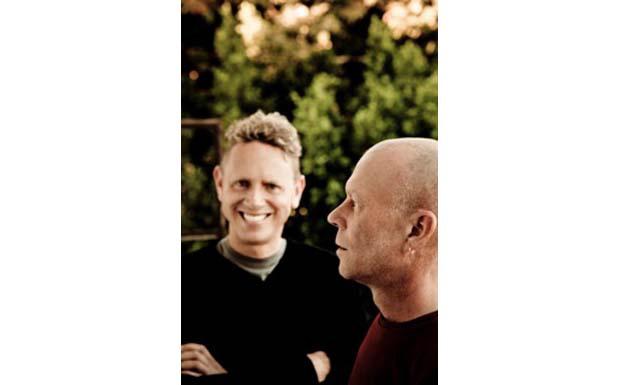 Martin L. Gore und Vince Clarke