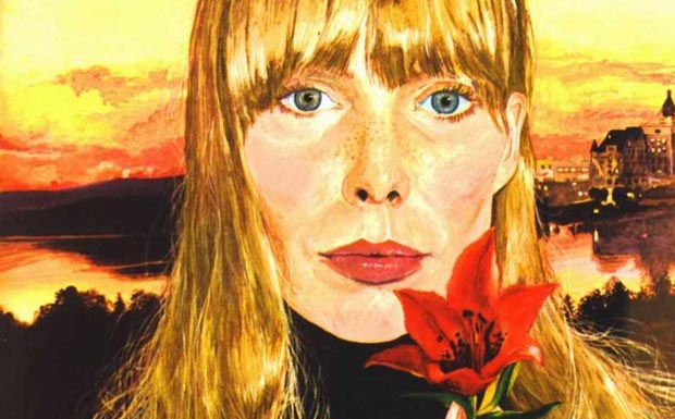 Joni Mitchell Clouds Artwork