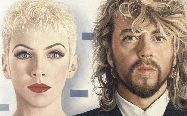 Eurythmics Revenge Artwork
