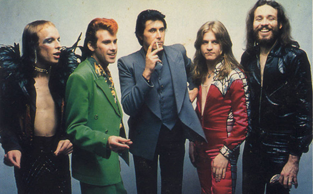 Roxy Music When We Were Young Artwork