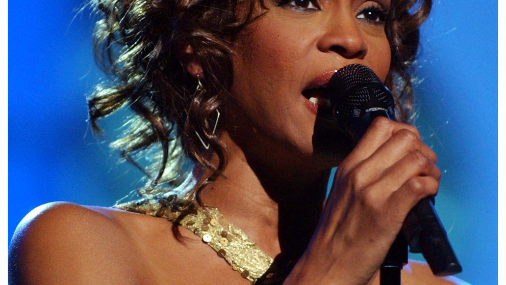 LAS VEGAS - MAY 22:  Whitney Houston during VH1 Divas Duets: A Concert to Benefit the VH1 Save the Music Foundation - Show at