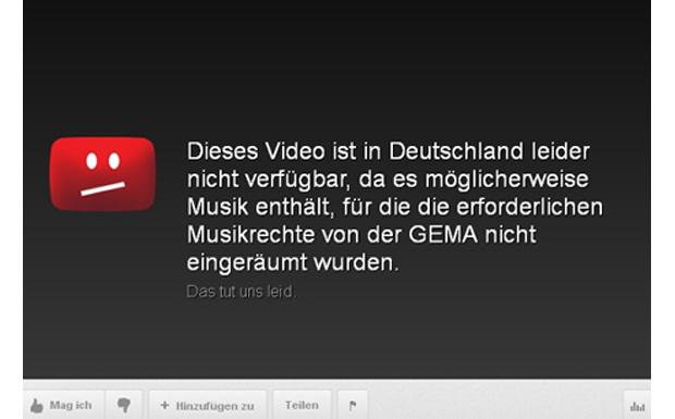 GEMA vs YouTube