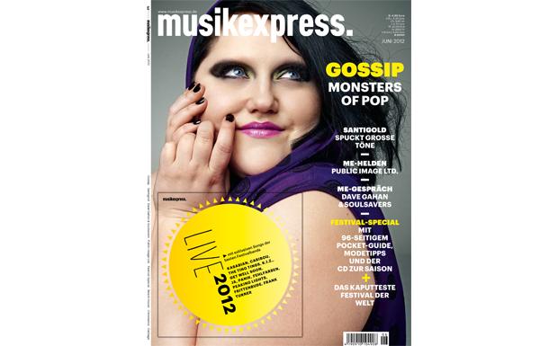 Musikexpress-Ausgabe Juni 2012