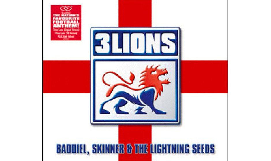 """2. The Lightning Seeds """"Three Lions"""" (1996)"""