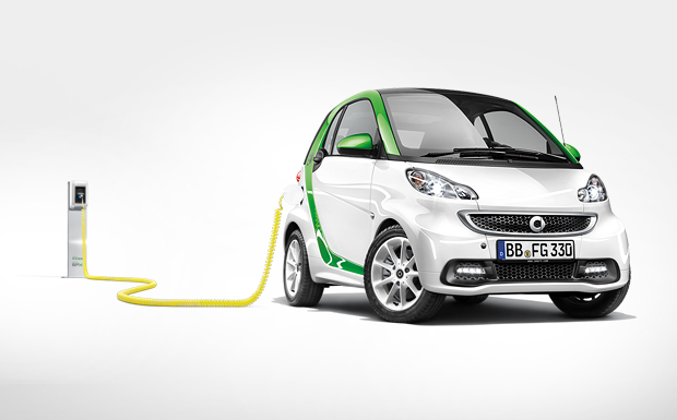 Der smart fortwo electric drive.