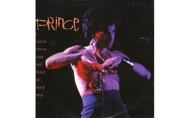 Rockabilly-Arbeiter, Milieu, alleine an der Bar. Mann hat Frau sitzen gelassen. Prince konstruiert ein ihm fremdes Setting. E