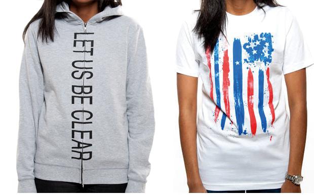Runway to win: Sweatshirt > Alexander Wang, T-Shirt > Sean John