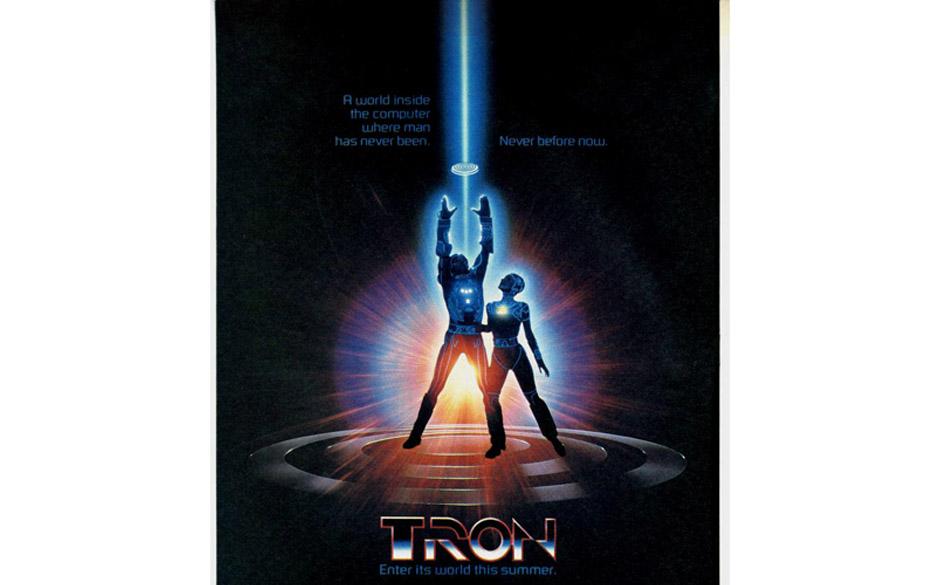 Das 'Tron'-Filmplakat von 1982.