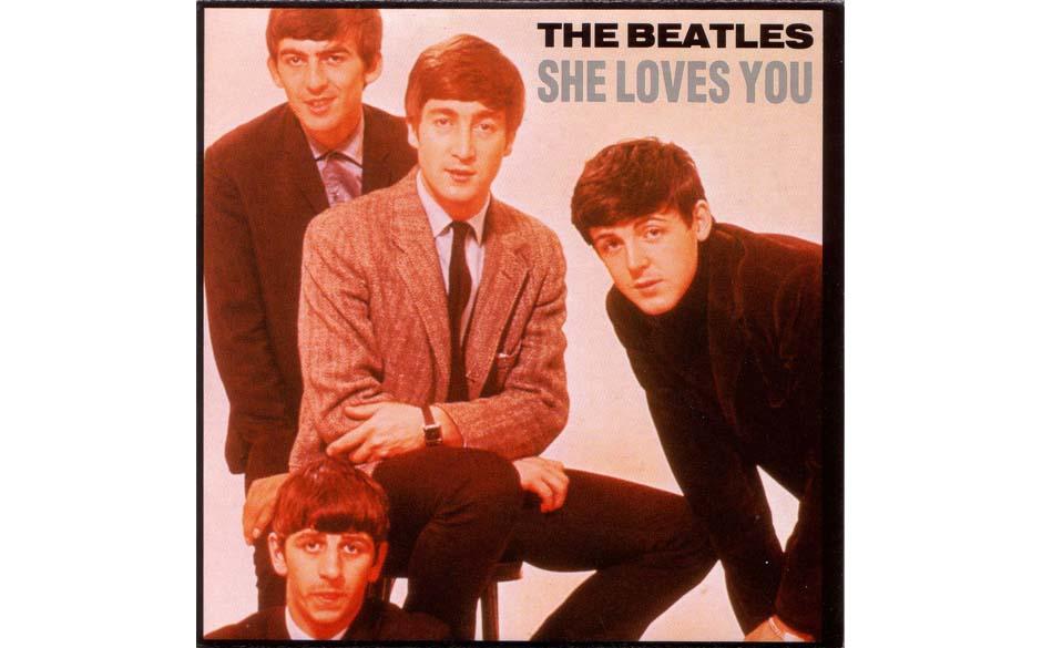 """Die Erkennungsmelodie der Beatlemania, in Aufbau und Wirkung weitaus kraftvoller als das darauf folgende """"I Want To Hold Yo"""