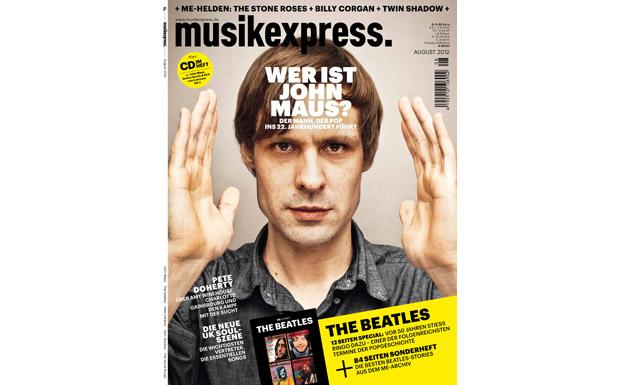 Musikexpress-Ausgabe August 2012