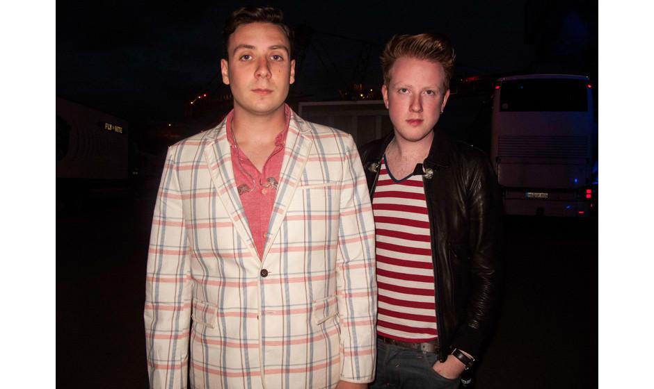 Sam Halliday und Alex Timble