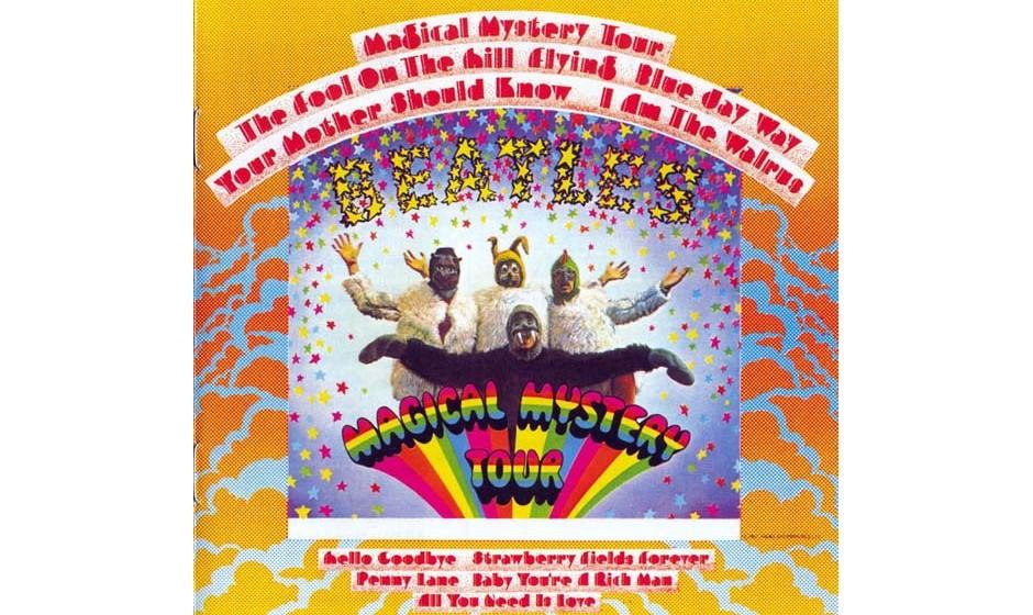 Fängt mit Lennons Acid-Pop-Strophe recht vielversprechend an, doch dann kommt McCartney mit seinem zwanghaft heiteren, völl
