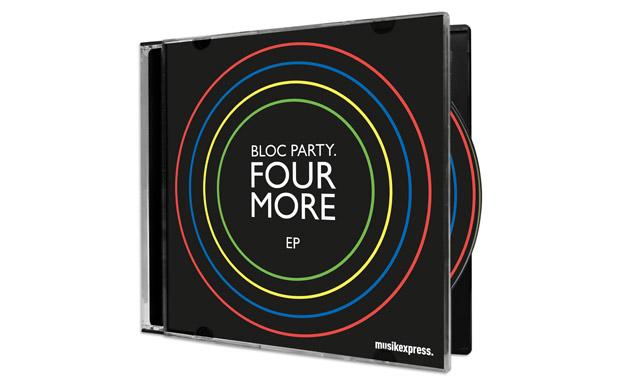 BLOC PARTY SIND ZURÜCK: FOUR MORE EP (EXKLUSIV FÜR MUSIKEXPRESS)