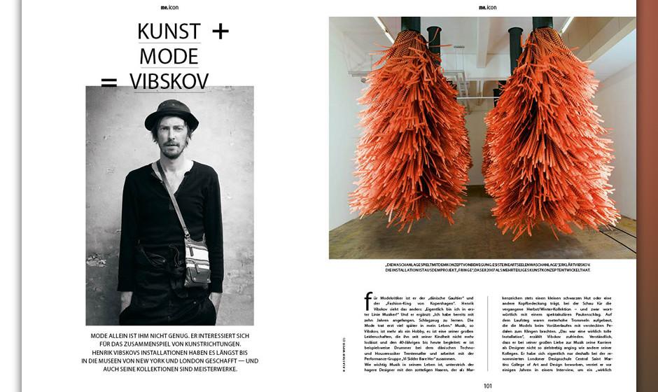Designer, Künstler und Musiker Henry Vibskov über die Verknüpfung von Mode & Kunst