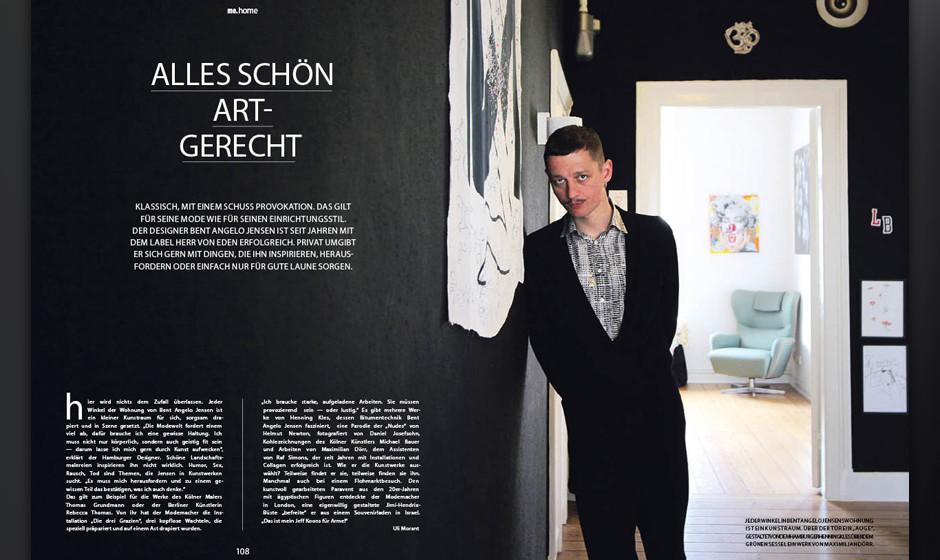 Zuhause bei Herr-von-Eden-Designer Bent Angelo Jensen