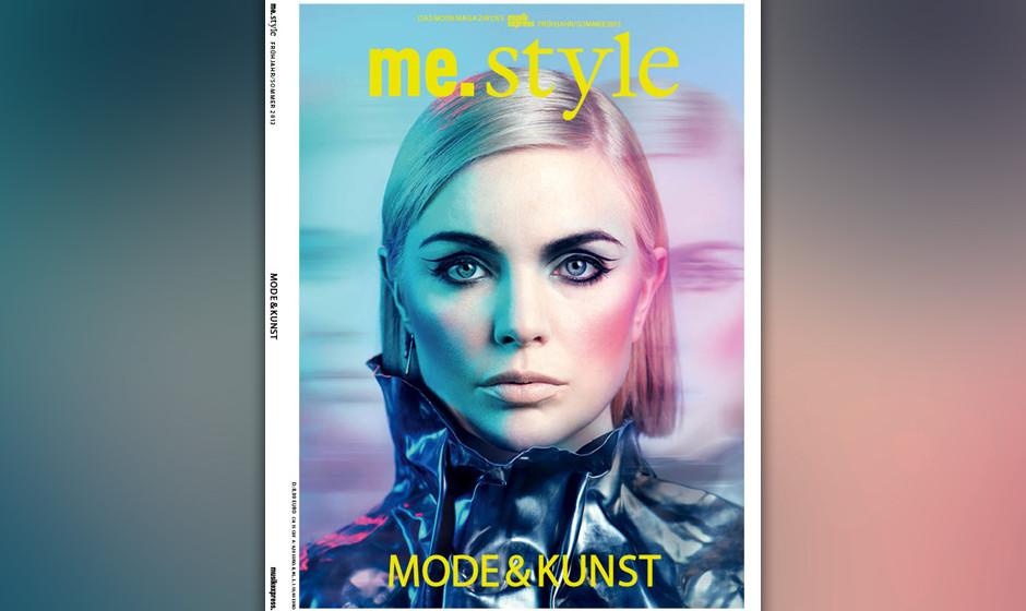 Sängerin und Musikerin Emika auf dem Cover des neuen me.style