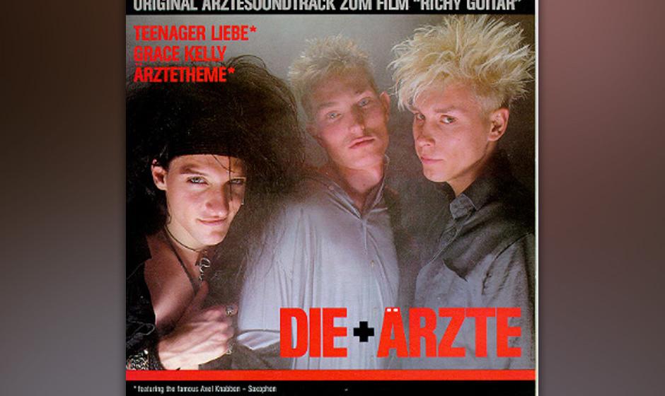 """Platz 7: Die Ärzte: """"Original Ärztesoundtrack zum Film 'Richy Guitar'"""""""