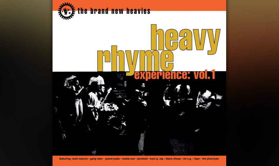Brand New Heavies  'Heavy Rhyme Experience Vol 1'