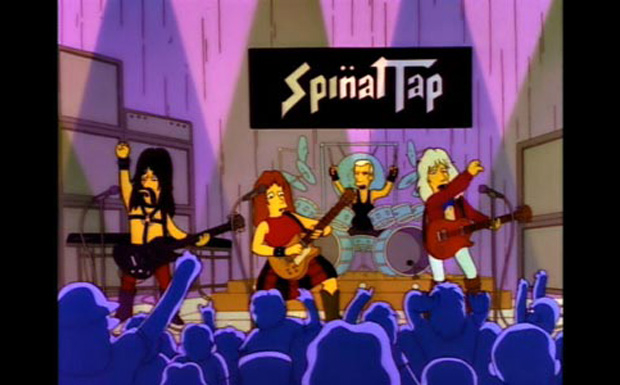Spinal Tap bei den Simpsons
