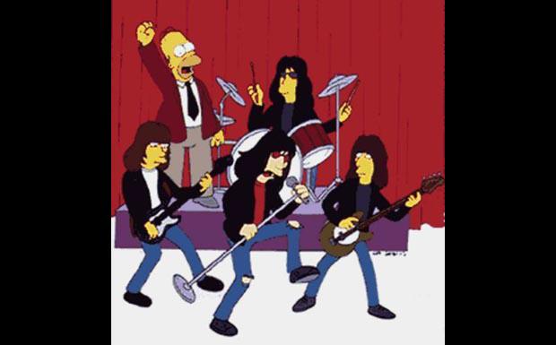 The Ramones bei den Simpsons