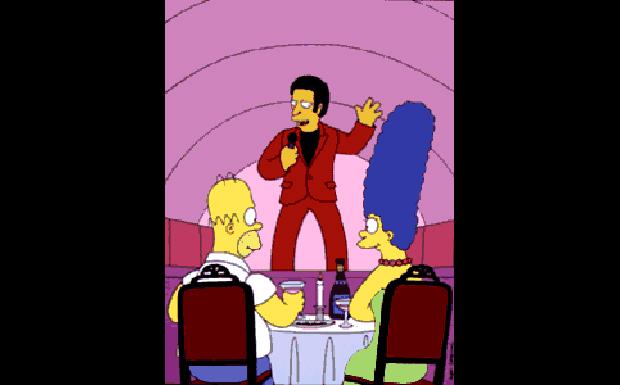 Tom Jones bei den Simpsons