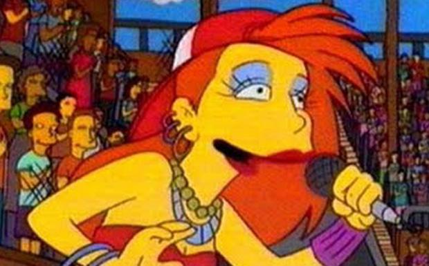 Cindy Lauper bei den Simpsons