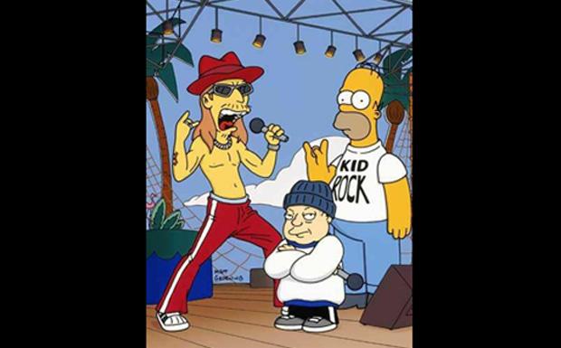 Kid Rock bei den Simpsons