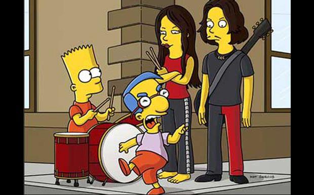The White Stripes bei den Simpsons