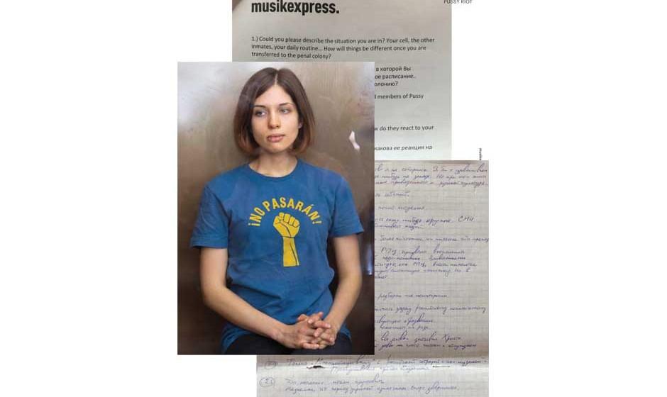Pussy Riot: Interview aus dem Knast. Nadeschda Tolokonnikowa über Punkproteste, Putin und findige Kinder