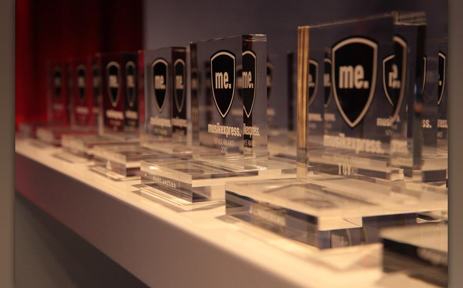 Insgesamt wurden 14 Awards verleihen