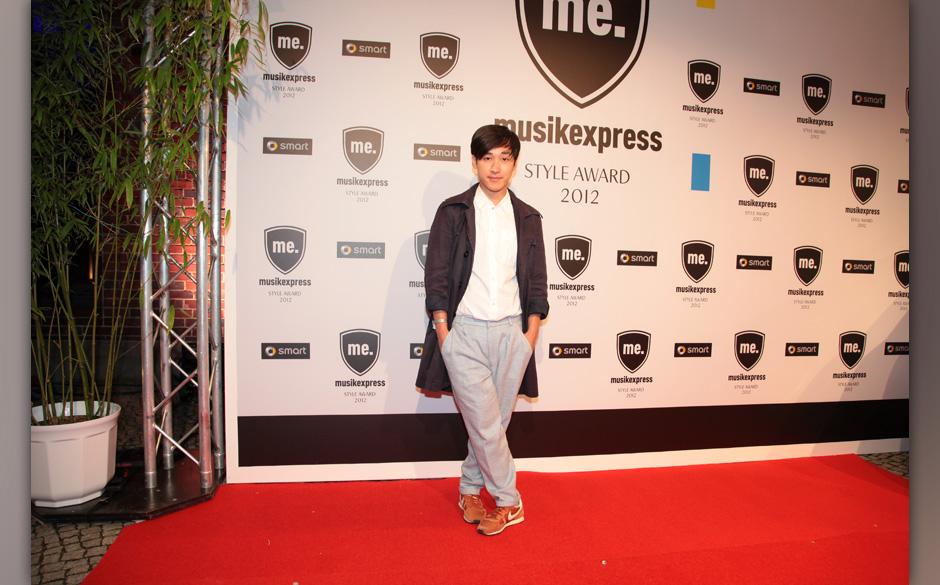 Erhielt einen Jury-Award: Newcomer-Modelabel: Hien Le