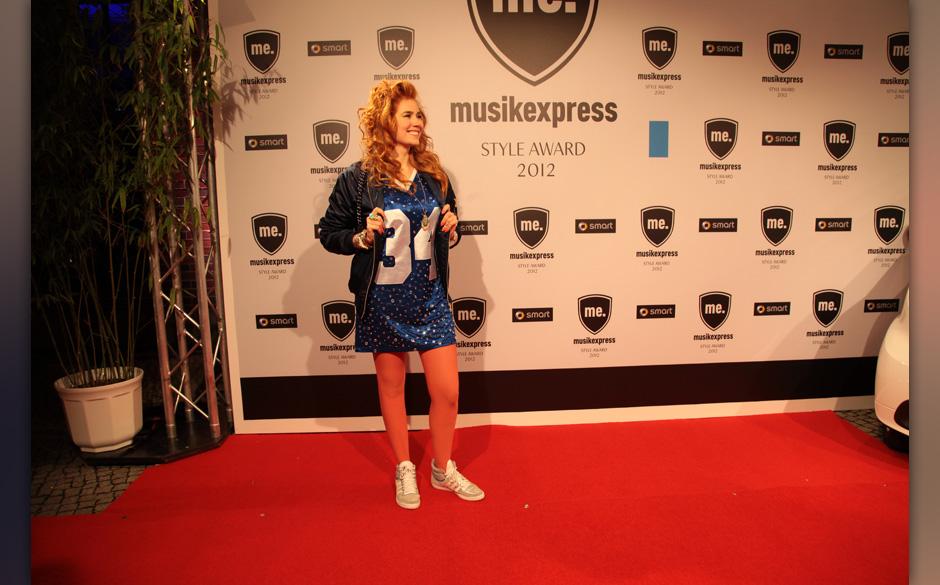 Gern gesehener ME-Gast: Laudatorin Palina Rojinski