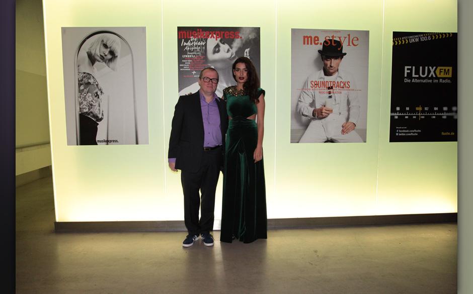 Mit Rolling-Stone-Chefredakteur Sebastian Zabel