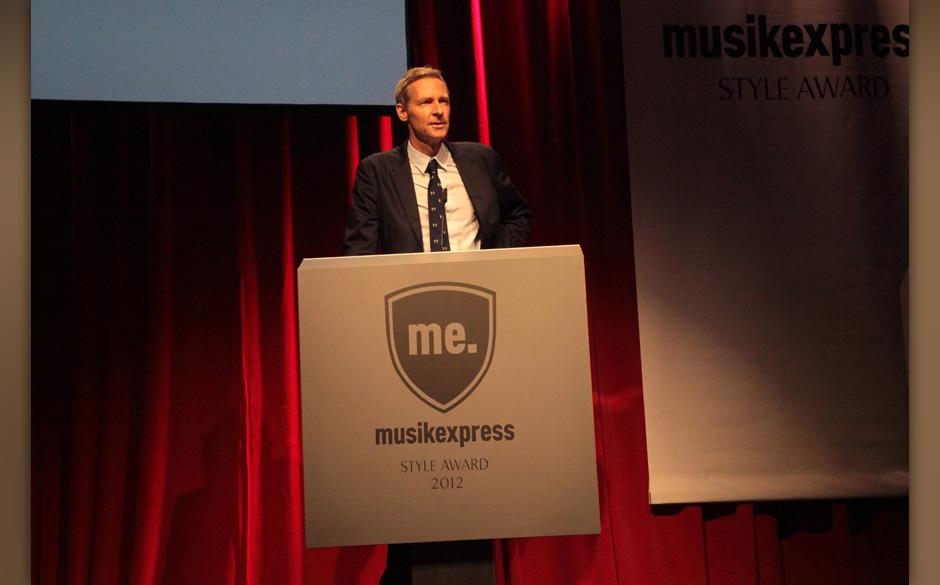 Hielt die Begrüßungsrede: ME-Chefredakteur Severin Mevissen.
