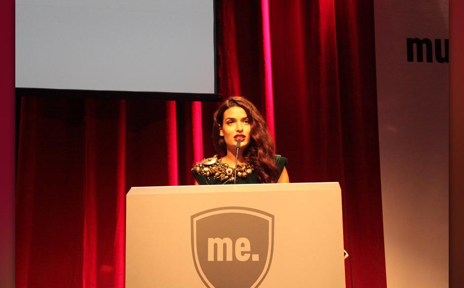 Tonia Sotiropoulou hielt die Laudatio für Marc Jacobs