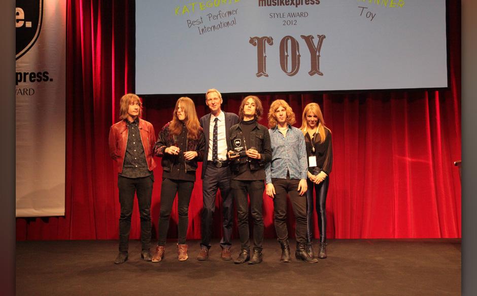 TOY: 'Best Performer International', mit Severin Mevissen.