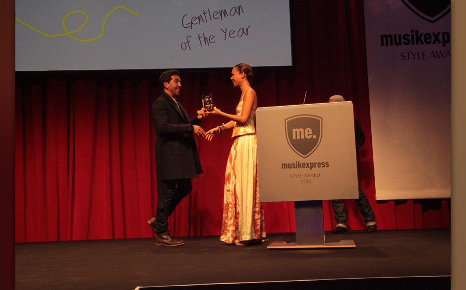 'Gentleman of the Year': Elyas M'Barek