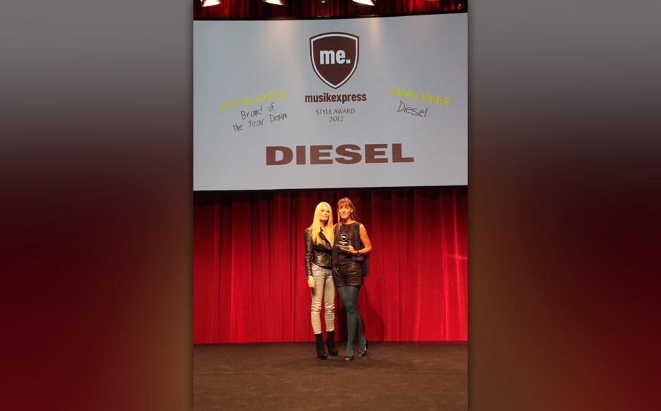 Mit Ulrike Orth (Diesel: 'Brand of the Year, Denim)