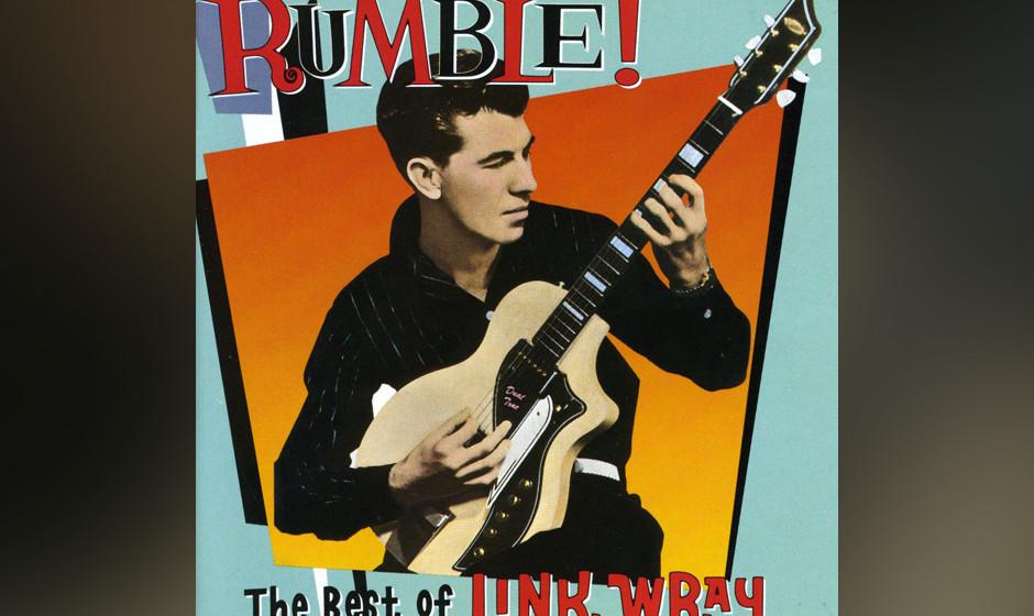 """Link Wray – """"Rumble"""" (1958). Tarantino legte in """"Pulp Fiction"""" dieses Instrumental unter einen weiteren legendären"""