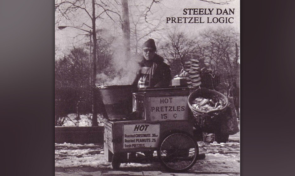 Steely Dan –' Pretzel Logic' (1974). Mit konventionellem Rock hatten Walter Becker und Donald Fagen nicht viel am Hut, aber
