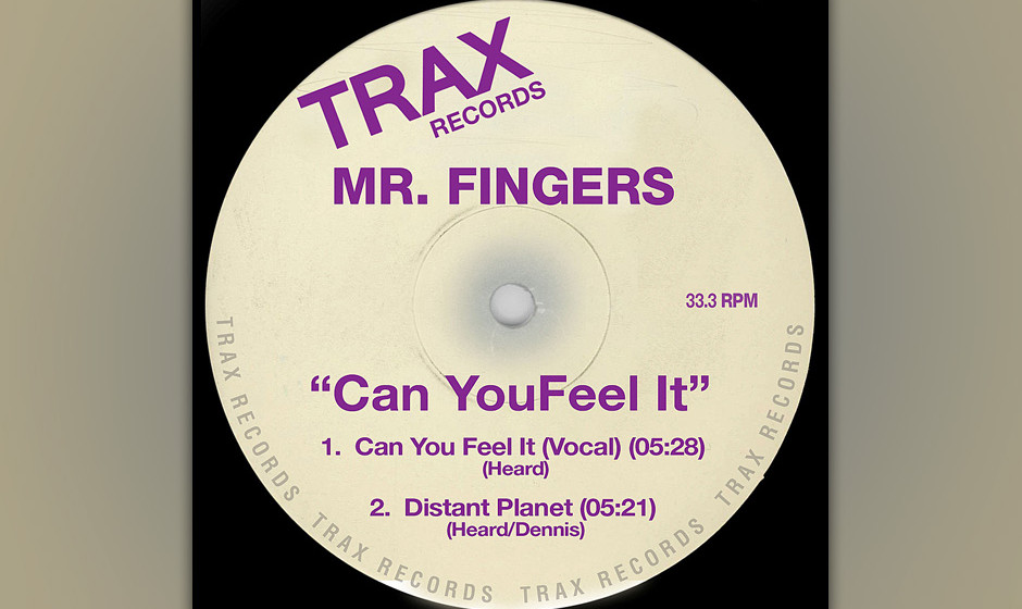 "Mr. Fingers – ""Can You Feel It?"" (1986). Was ""Strings Of Life"" für Detroit Techno, ist ""Can You Feel It?"" für"
