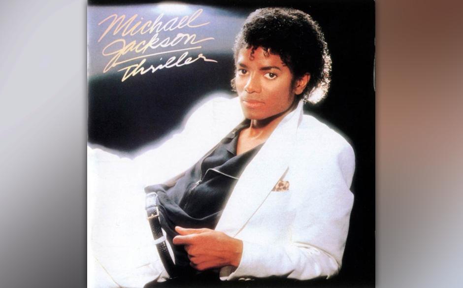 """Michael Jackson –'Thriller' (1982). Hier wurden Grenzen überschritten:""""Beat It"""" war Pop, den Eddie van Halen mit e"""