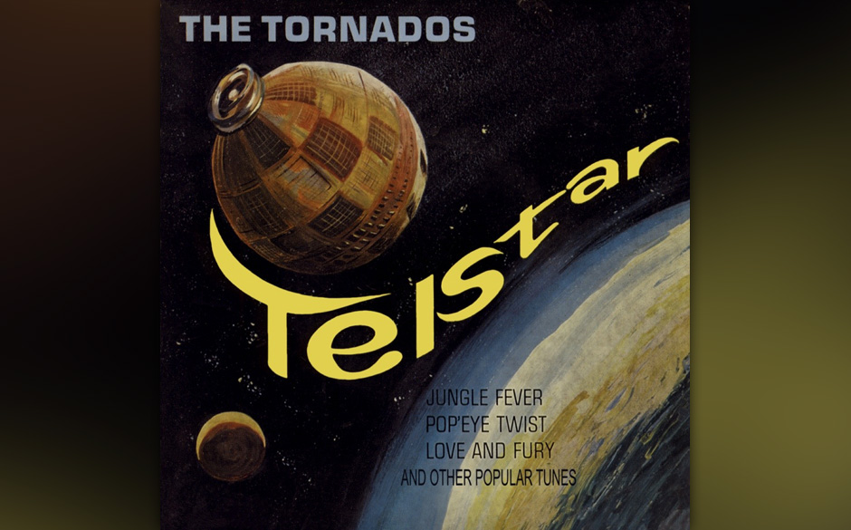 """The Tornados –""""Telstar"""" (1962). Nicht die Tornados, die mit""""Telstar"""" als erste britische Band auf Platz 1 der US-Ch"""