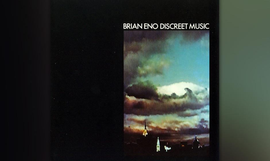 """Brian Eno – 'Discreet Music' (1975). Orientiert an Saties """"Möbelmusik"""" und Harfenmusik des 18. Jahrhunderts wagte der"""