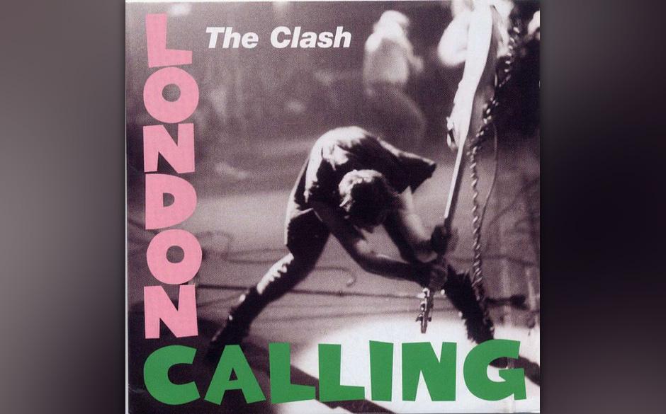 """The Clash – 'London Calling' (1979). Es war der zweite """"Verrat"""" von The Clash an den Punk-Ideologen. Nicht nur, dass di"""