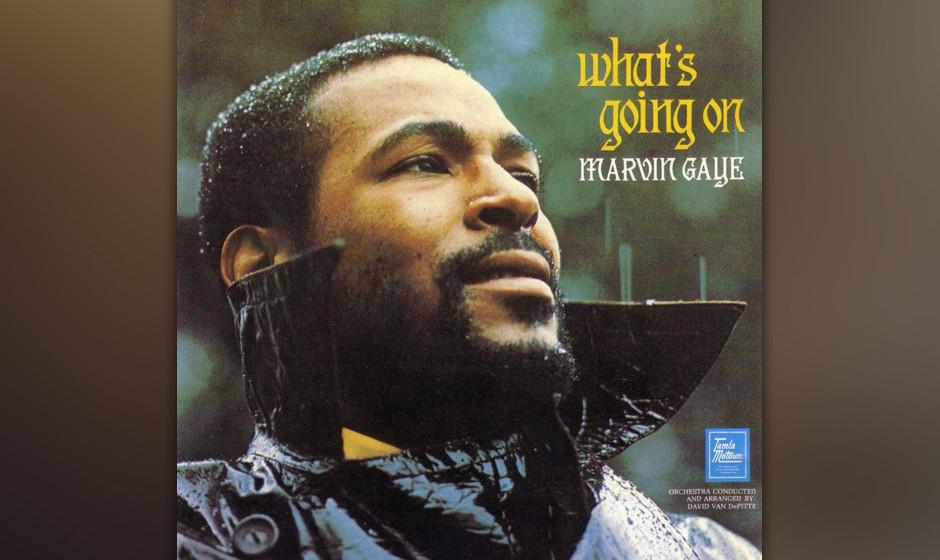 Marvin Gaye – 'What's Going On' (1971). Vor Marvin Gaye war Antikriegs-Musik meist eindringlicher Rock oder Folk á la Joan