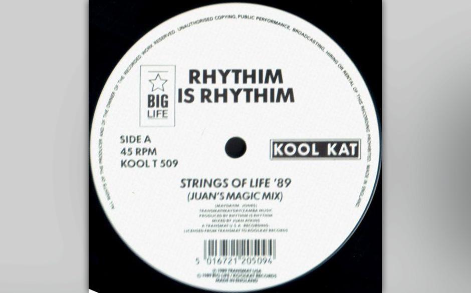 "Rhythim is Rhythim –""Strings Of Life"" (1987). Was ""Can You Feel It?"" für Chicago House, ist ""Strings Of Life"""