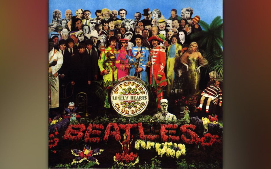 "The Beatles – 'Sgt. Pepper's Lonely Hearts Club Band' (1967). Die Band, die das Prinzip ""Band"" erst erfunden hat, treib"