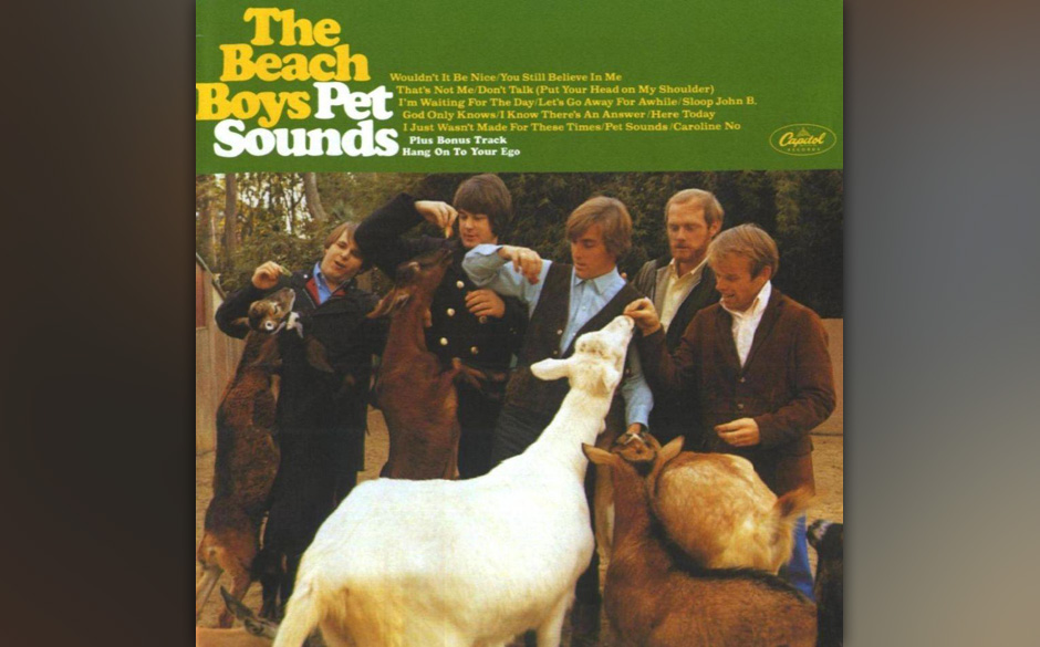 The Beach Boys – 'Pet Sounds' (1966). Brian Wilson, einem wasserscheuen Stubenhocker, schwebte 1965 keine Songsammlung mehr